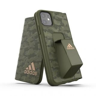 iPhone 11 ケース adidas Performance Folio grip case CAMO FW19 Tech olive iPhone 11