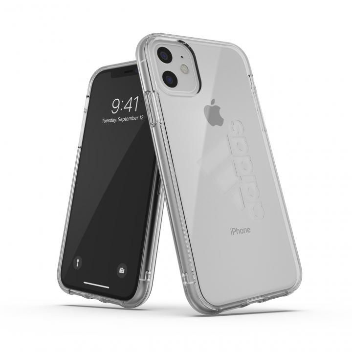 iPhone 11 ケース adidas Performance Protective Clear Case FW19 Clear big logo iPhone 11_0