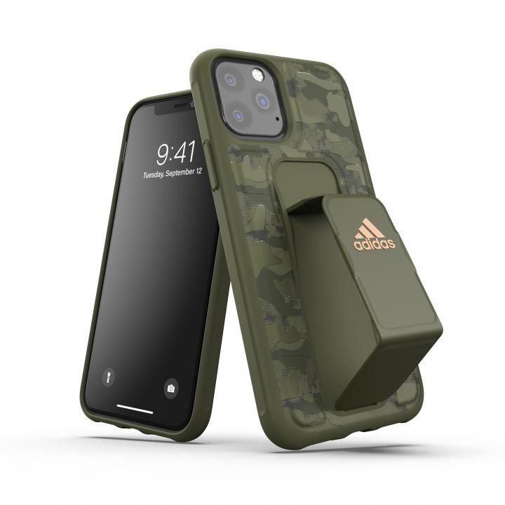 iPhone 11 Pro ケース adidas Performance Grip case CAMO FW19 Tech olive iPhone 11 Pro_0