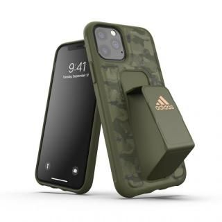 iPhone 11 Pro ケース adidas Performance Grip case CAMO FW19 Tech olive iPhone 11 Pro