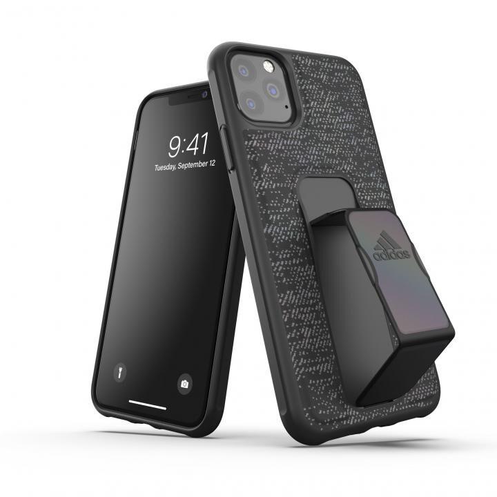 iPhone 11 Pro Max ケース adidas Performance Grip case iridescent FW19 Black iPhone 11 Pro Max_0