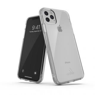 iPhone 11 Pro Max ケース adidas Performance Protective Clear Case FW19 Clear small logo iPhone 11 Pro Max