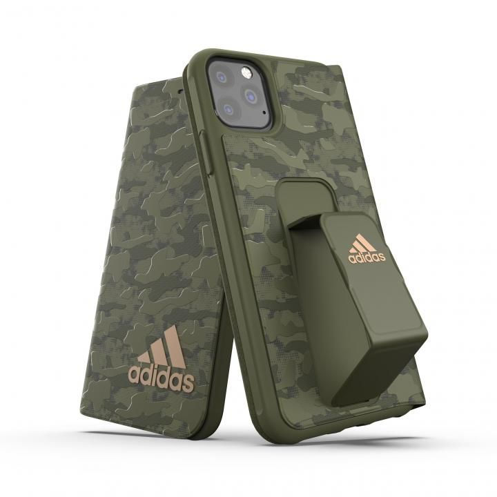 iPhone 11 Pro Max ケース adidas Performance Folio grip case CAMO FW19 Tech olive iPhone 11 Pro Max_0