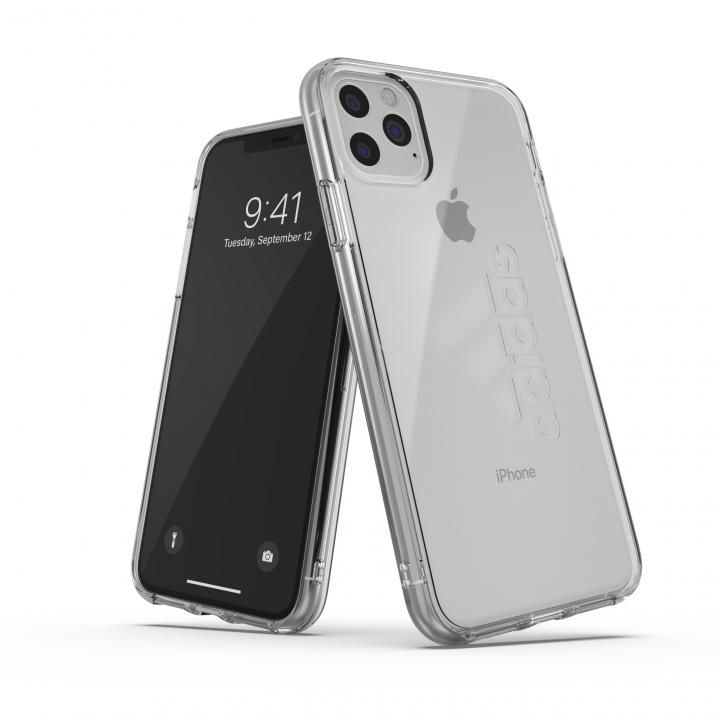 iPhone 11 Pro Max ケース adidas Performance Protective Clear Case FW19 Clear big logo iPhone 11 Pro Max_0