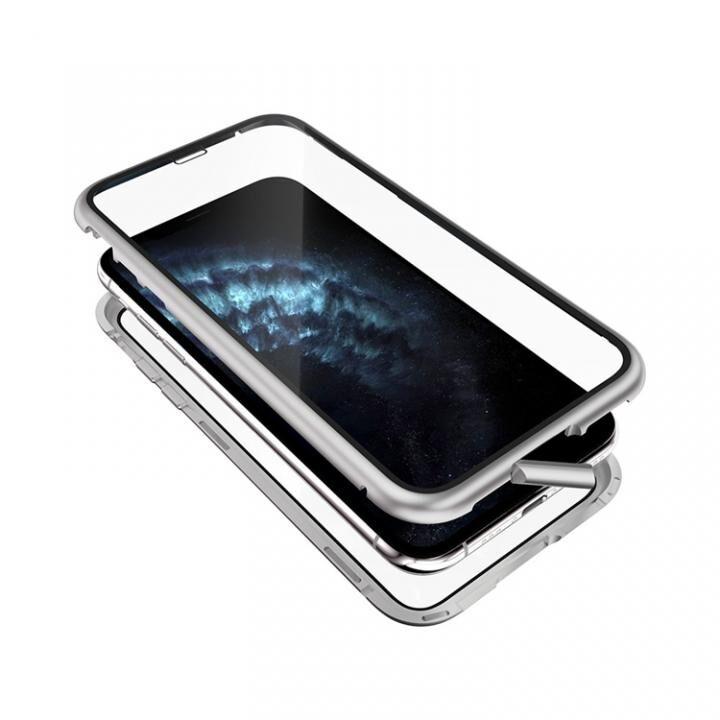 iPhone 11 Pro ケース Monolith Alluminio 2020(モノリス アルミニオ 2020) ゴリラガラス+アルミバンパー シルバー iPhone 11 Pro_0