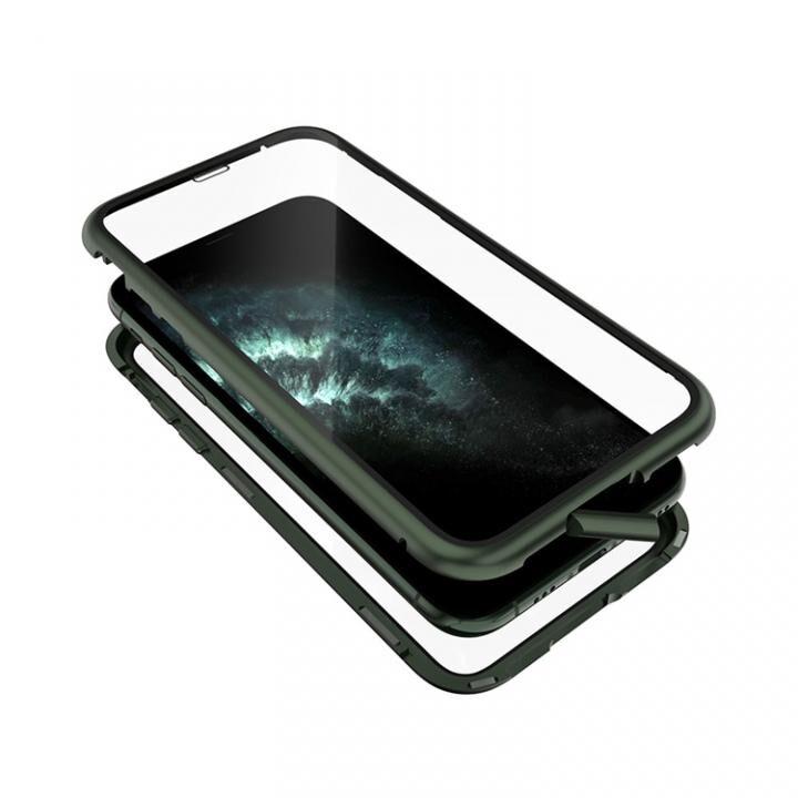 iPhone 11 Pro ケース Monolith Alluminio 2020(モノリス アルミニオ 2020) ゴリラガラス+アルミバンパー グリーン iPhone 11 Pro_0