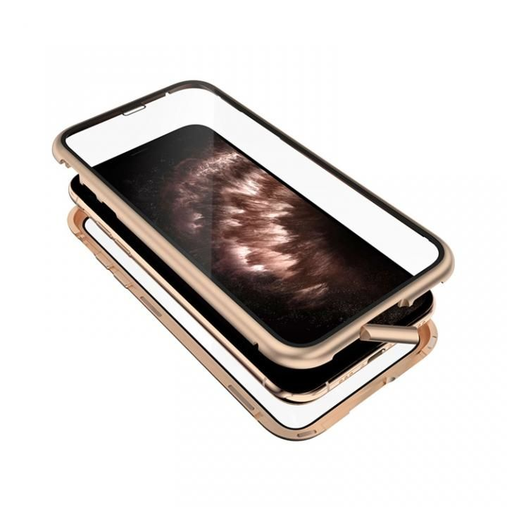 iPhone 11 Pro ケース Monolith Alluminio 2020(モノリス アルミニオ 2020) ゴリラガラス+アルミバンパー ゴールド iPhone 11 Pro_0