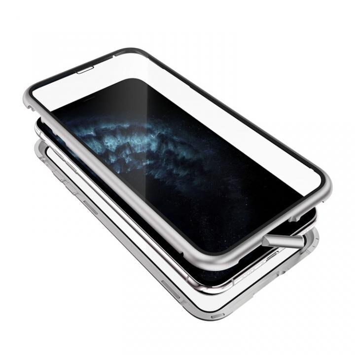 iPhone 11 Pro Max ケース Monolith Alluminio 2020(モノリス アルミニオ 2020) ゴリラガラス+アルミバンパー シルバー iPhone 11 Pro Max_0