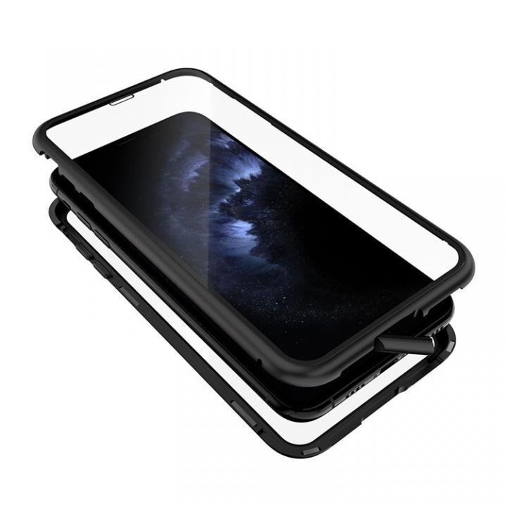 iPhone 11 Pro Max ケース Monolith Alluminio 2020(モノリス アルミニオ 2020) ゴリラガラス+アルミバンパー ブラック iPhone 11 Pro Max_0