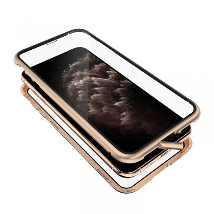 iPhone 11 Pro Max ケース Monolith Alluminio 2020(モノリス アルミニオ 2020) ゴリラガラス+アルミバンパー ゴールド iPhone 11 Pro Max【8月下旬】_0