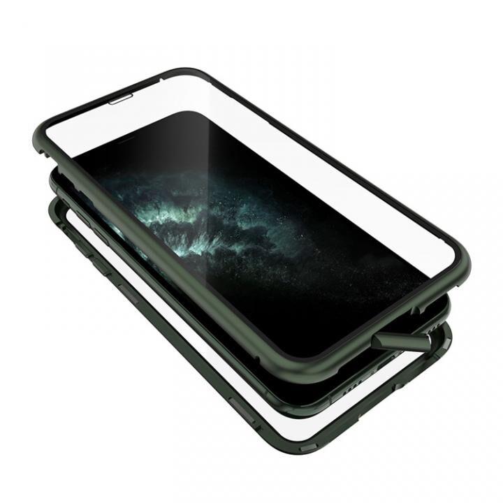 iPhone 11 Pro Max ケース Monolith Alluminio 2020(モノリス アルミニオ 2020) ゴリラガラス+アルミバンパー グリーン iPhone 11 Pro Max_0