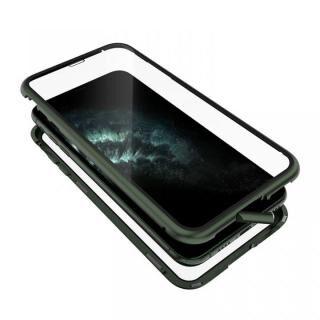 iPhone 11 Pro Max ケース Monolith Alluminio 2020(モノリス アルミニオ 2020) ゴリラガラス+アルミバンパー グリーン iPhone 11 Pro Max