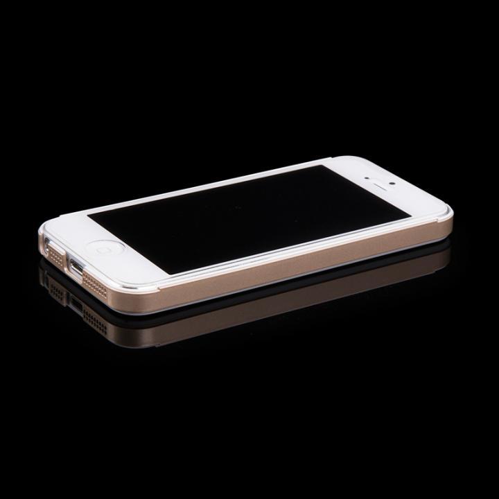 iPhone SE/5s/5 ケース 高級感のあるデザイン Innerexile Chevalier  iPhone SE/5s/5 ゴールド_0