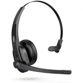 TaoTronics TT-BH041 モノラルヘッドセット Bluetooth5.0対応 / 片耳 / マイク搭載
