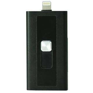 Lightningコネクタ搭載SDカードリーダーライター Switch Memory ブラック