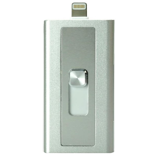 Lightningコネクタ搭載SDカードリーダーライター Switch Memory シルバー_0