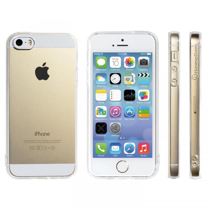 【2014年 改良版】Highend berryオリジナル クリア ソフトTPU iPhone5s/5ケース