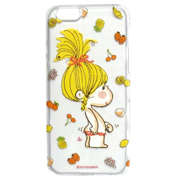 iPhone6 ケース 水森亜土 ポリカーボネイトケース オヘソ/フルーツ iPhone 6_0