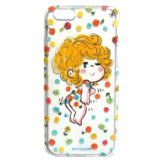 水森亜土 ポリカーボネイトケース オハナ/ドット iPhone 6