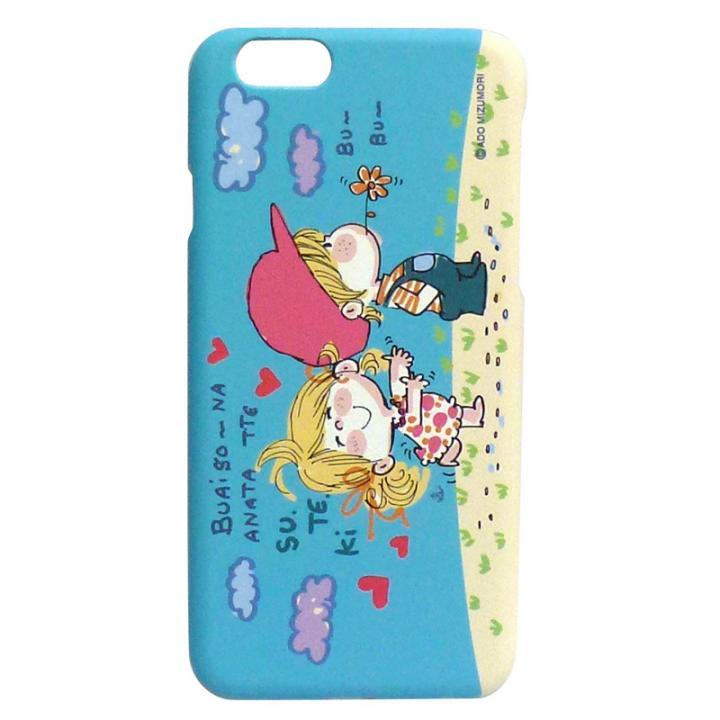 水森亜土 ポリカーボネイトケース デート iPhone 6