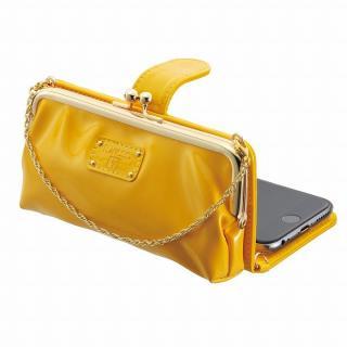 iPhone6s/6 ケース がま口タイプ お財布付き手帳型ケース icoin GAMACO イエロー iPhone 6s/6
