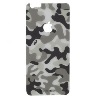 Deff 背面強化ガラス カモフラ 雪 iPhone 6