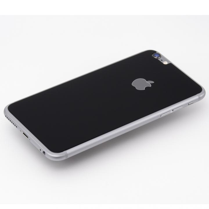 Deff 背面強化ガラス ブラック iPhone 6 Plus