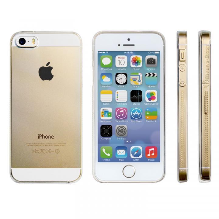 【iPhone SE/5s/5ケース】Highend Berryオリジナル iPhone SE/5s/5 UVコート クリア ハードケース_0