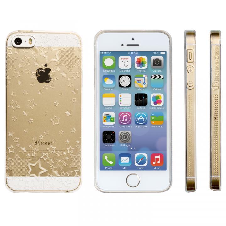 iPhone SE/5s/5 ケース Highend Berryオリジナル iPhone SE/5s/5 トゥインクルスター クリア ハードケース_0