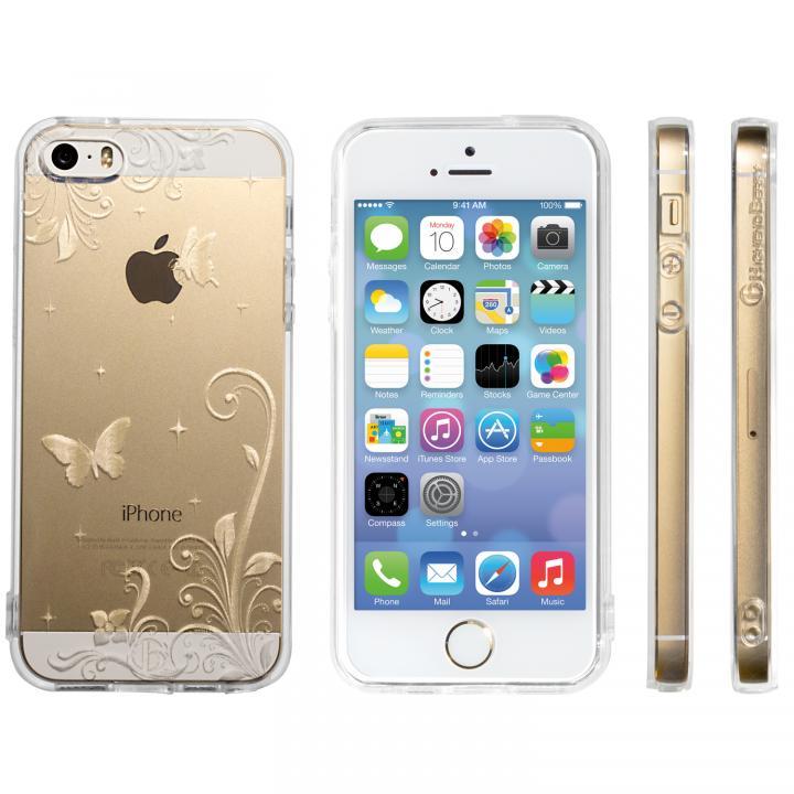 iPhone SE/5s/5 ケース Highend Berryオリジナル iPhone SE/5s/5ソフトケース パラダイス ストラップホール付き_0