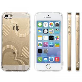 【在庫限り】Highend Berryオリジナル iPhone5s/5ソフトケース フレアハート ストラップホール付き