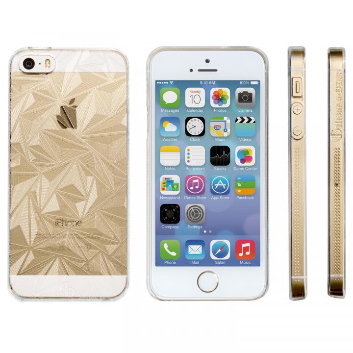 【iPhone SE/5s/5ケース】Highend Berryオリジナル iPhone SE/5s/5 ダイヤモンドカット クリア ハードケース_0