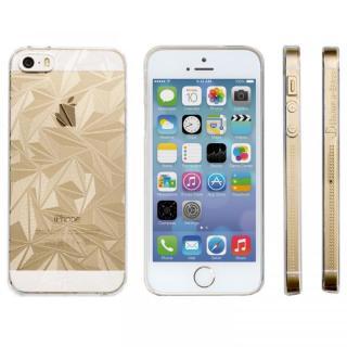 Highend Berryオリジナル iPhone SE/5s/5 ダイヤモンドカット クリア ハードケース