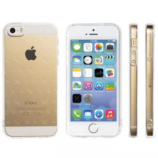Highend Berryオリジナル iPhone SE/5s/5ソフトケース ダブルサイズスター ストラップホール付き