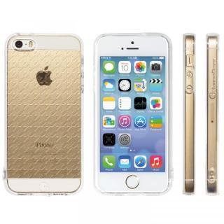 Highend Berryオリジナル iPhone SE/5s/5ソフトケース ハウンズトゥース ストラップホール付き