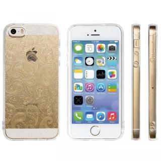 Highend Berryオリジナル iPhone SE/5s/5ソフトケース ミニペイズリー ストラップホール付き