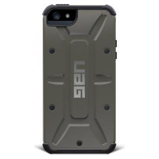 UAG コンポジットケース グレーグリーン iPhone SE/5s/5ケース