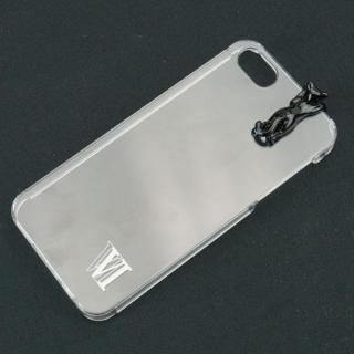 iPhone SE/5s/5 ケース with アニマル ネコ ブラック