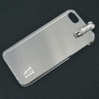 iPhone SE/5s/5 ケース with アニマル ヒツジ シルバー