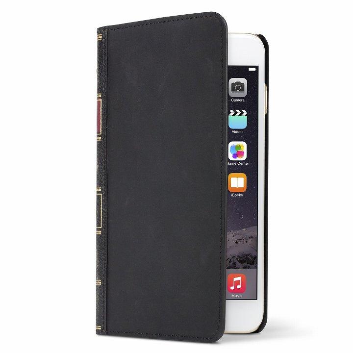 iPhone6 Plus ケース 洋書のような手帳型ケース BookBook  クラシックブラック iPhone 6 Plus_0