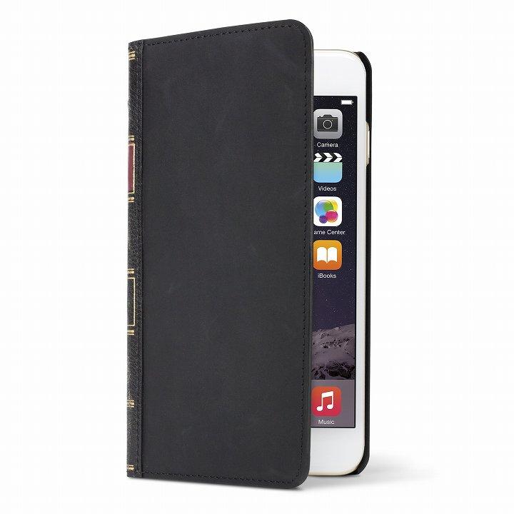 iPhone6 ケース 洋書のような手帳型ケース BookBook  クラシックブラック iPhone 6_0