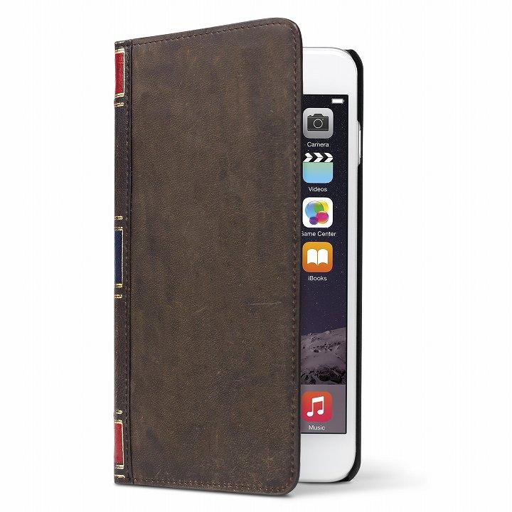 iPhone6 ケース 洋書のような手帳型ケース BookBook  ヴィンテージブラウン iPhone 6_0