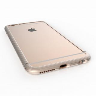 超々ジュラルミンA2017 20gネジなしバンパー The Edge ゴールド iPhone 6 Plus