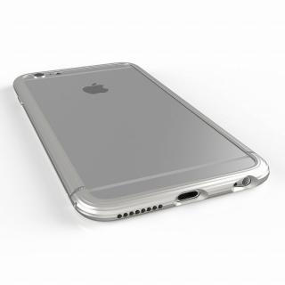 超々ジュラルミンA2017 SQUAIR The Edge シルバー iPhone 6 Plus