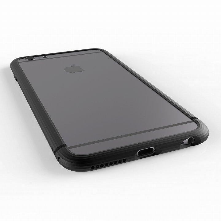 超々ジュラルミンA2017 SQUAIR The Edge ブラック iPhone 6 Plus