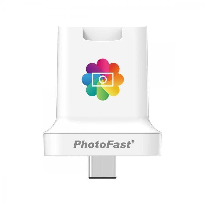 USB PD専用 充電と同時にバックアップをするmicroSDカードリーダー PhotoCube C_0
