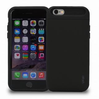 iCash ICカード対応 タフケース ブラック iPhone 6s/6