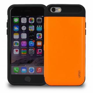 iCash ICカード対応 タフケース オレンジ iPhone 6s/6