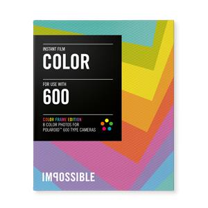 INSTANT COLOR FILM  POLAROID 600 TYPE