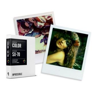 INSTANT COLOR FILM  POLAROID SX-70-Type Cameras